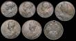 London Coins : A172 : Lot 748 : Coronations and Jubilees in small group in silver (7) GB (6) Queen Victoria Diamond Jubilee 1897 (3)...