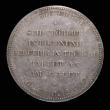 London Coins : A172 : Lot 751 : German States - Prussia undated (1890) Wedding Anniversary of Wilhelm II and Auguste 45mm diameter i...