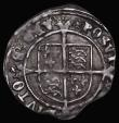 London Coins : A172 : Lot 856 : Groat Henry VIII Second Coinage Laker Bust D, S.2337E mintmark Rose Good Fine on an irregularly shap...