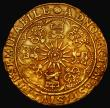 London Coins : A172 : Lot 863 : Spur Ryal James I Second Coinage (1606-1607) S.2614 North 2080, mintmark Escallop, weight 6.77 gramm...