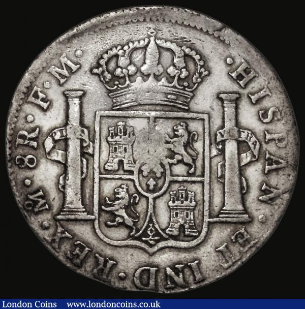 Dollar George III Oval Countermark on a Mexico City 8 Reales 1796 FM Mo ESC 129, Bull 1852, Countermark Fine or better, host coin Good Fine/Fine : English Coins : Auction 172 : Lot 890