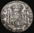 London Coins : A172 : Lot 890 : Dollar George III Oval Countermark on a Mexico City 8 Reales 1796 FM Mo ESC 129, Bull 1852, Counterm...