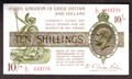 London Coins : A129 : Lot 120 : Treasury 10 shillings Warren Fisher T30 issued 1922 serial L/71 835776, EF+