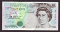 London Coins : A130 : Lot 140 : Five pounds Kentfield B362 issued 1991 first run low number R01 000218, UNC