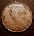 London Coins : A130 : Lot 1545 : Penny 1861 Freeman 18 dies 2+D GVF with a few surface marks on the portrait, we note that there ...
