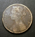 London Coins : A130 : Lot 1593 : Penny 1874H Freeman 76 dies 7+I only Fair but very Rare, we note that there was no example in th...