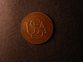 London Coins : A131 : Lot 585 : USA Bar Copper undated (1785) weighing 5.8 grammes, with spur from second bar, partial die c...