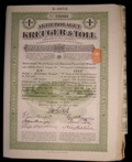 London Coins : A133 : Lot 51 : Sweden, Kruger & Toll Co. 22 x 1B share certificates, green, each for 100 Swedish Cr...