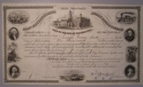 London Coins : A134 : Lot 79 : U.S.A., Loan of the City of Philadelphia, $1,000 bond, 1857, very attractive...
