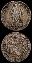 London Coins : A170 : Lot 1133 : Netherlands (2) Utrecht 6 Stuivers 1764 KM#101.1 better than VF a bold and problem-free example, Zee...
